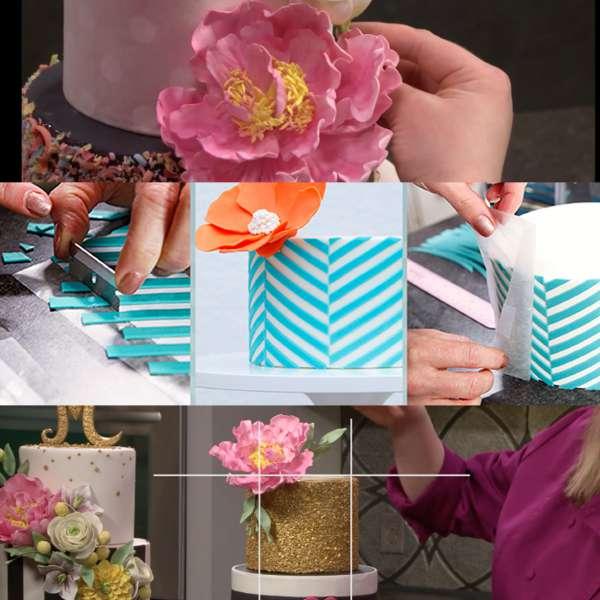 آشنایی با توصیههایی برای تزئین کیک