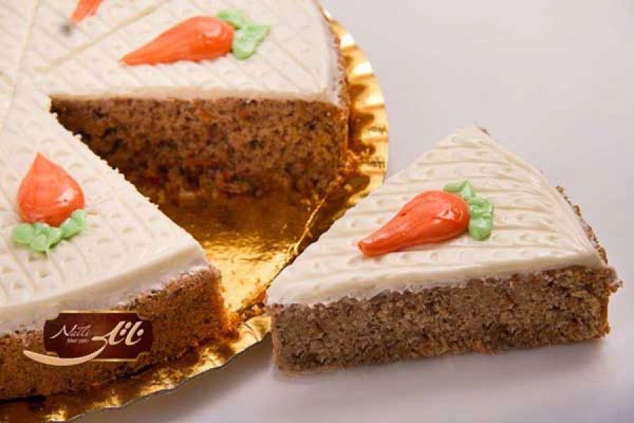 کیک هویج، کیک نارنجی رنگ و خوش طعم