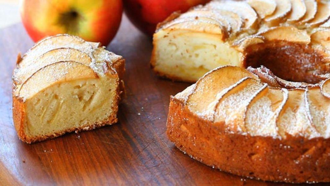 دستور تهیه کیک سیب در خانه