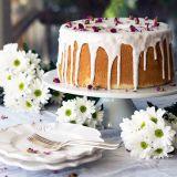 کیک شیفون برای خامه کشی | کیکی اسفنجی و خوش طمع