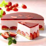 آموزش مرحله به مرحله ی طرز تهیه چیز کیک یخچالی بدون قالب کمربندی