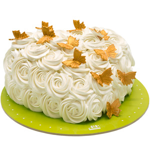 خامه کیک خوشمزه اما پرکالری!