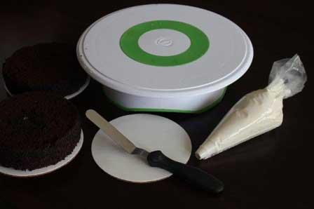 ابزار خامهکشی کیک