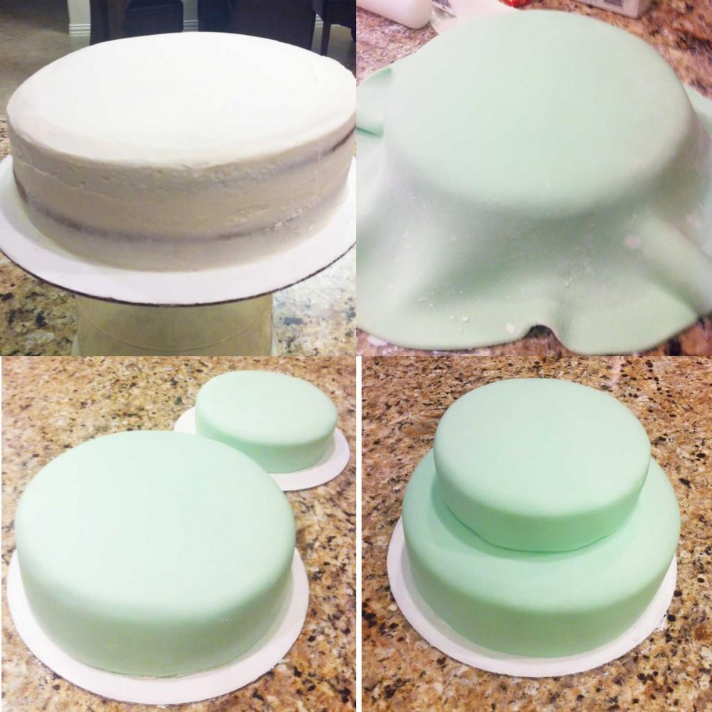 خمیر فوندانت, طرز تهیه خمیر فوندانت, خمیر فوندانت با مارشمالو, کیک فوندانت