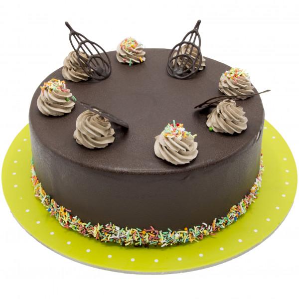 کیک شکلات شیری