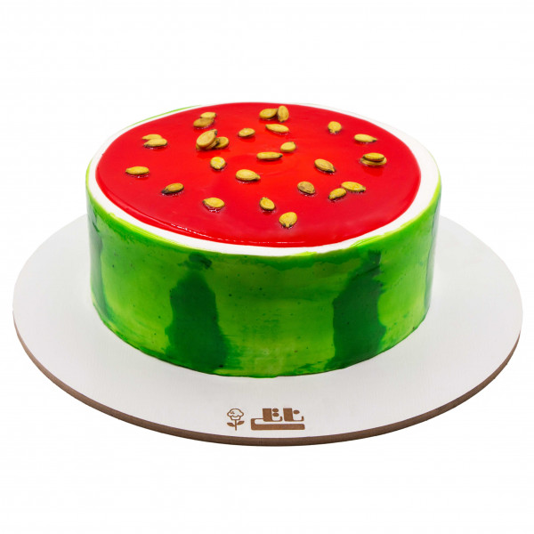کیک هندوانه یلدایی