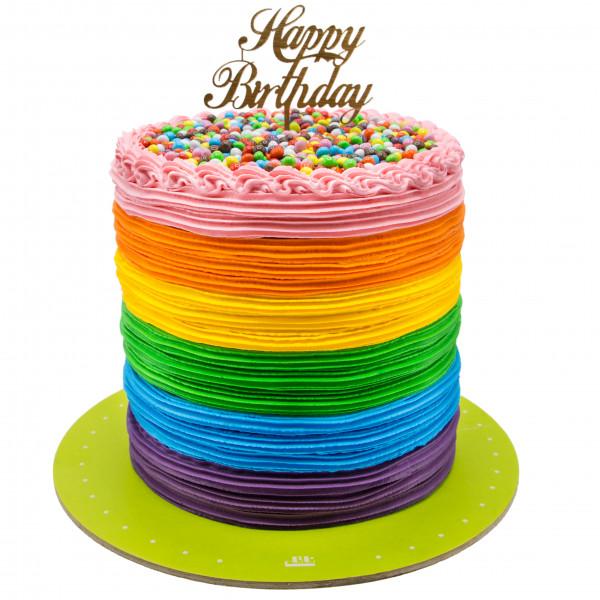 کیک رنگارنگ