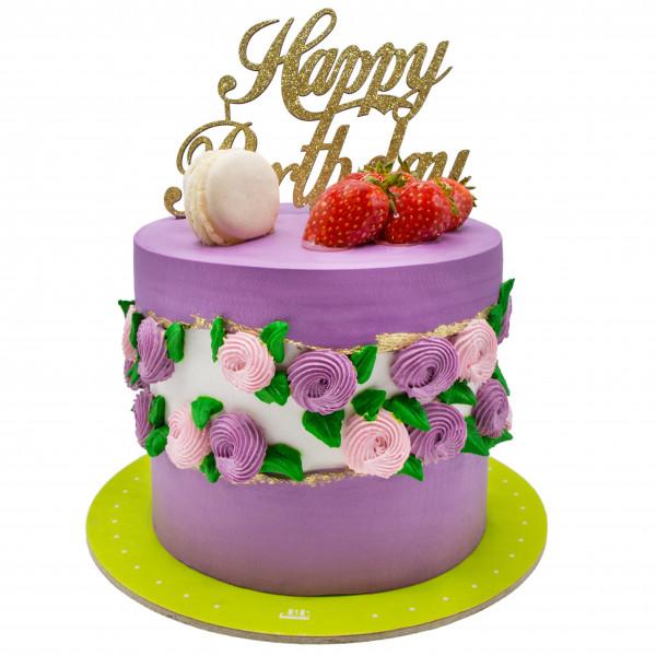 کیک شکوفه
