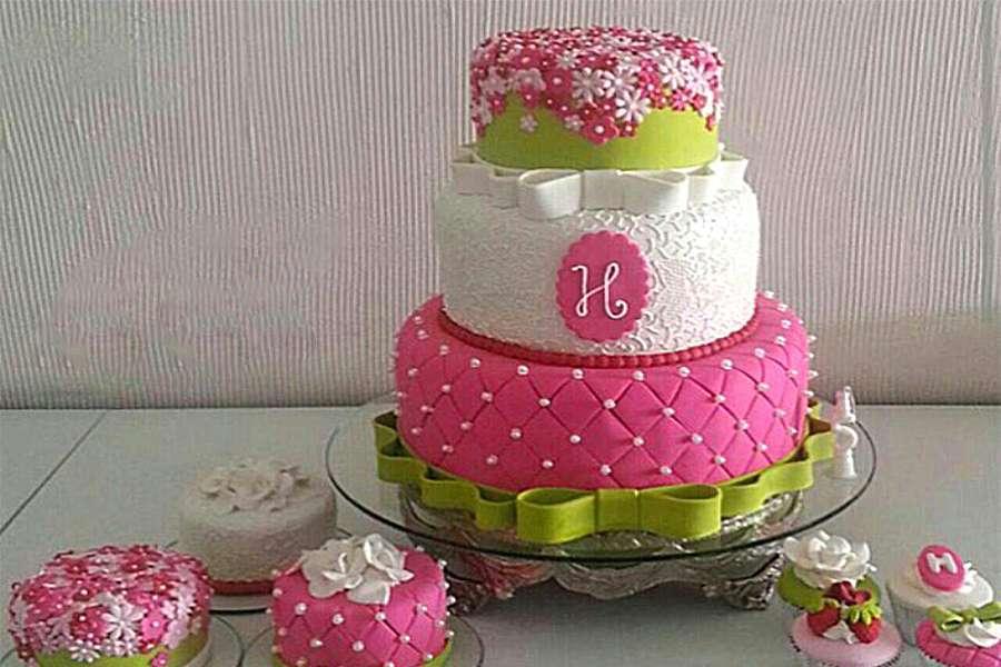 کیک عروسی گلناز