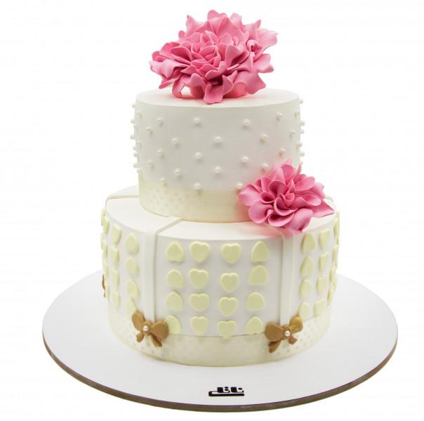 کیک قلب کوکب
