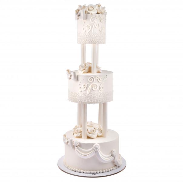 کیک قصر عشق