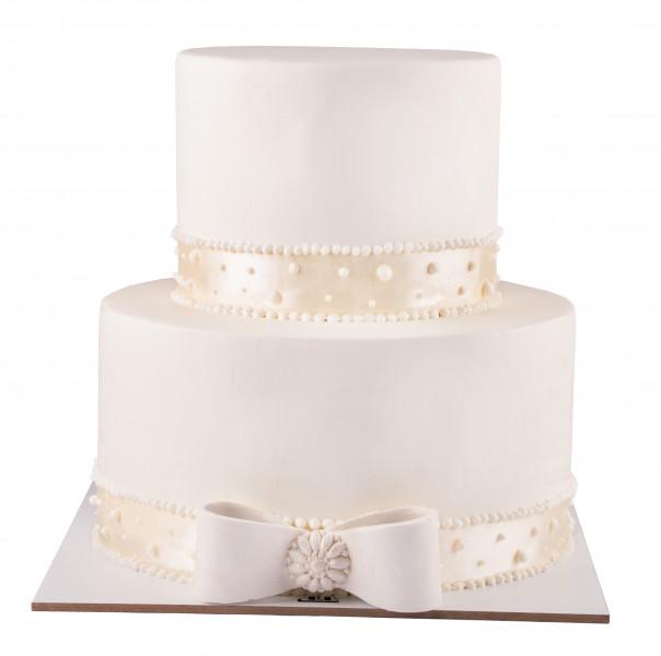 کیک پاپیون عروس