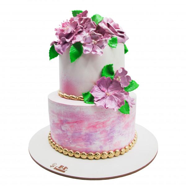 کیک گل بهار