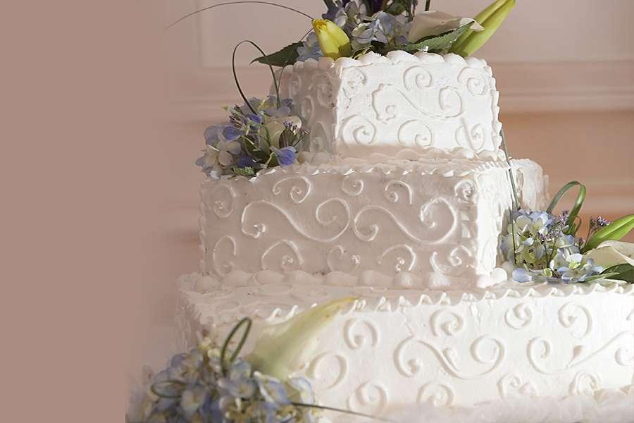 کیک عروسی شمیم
