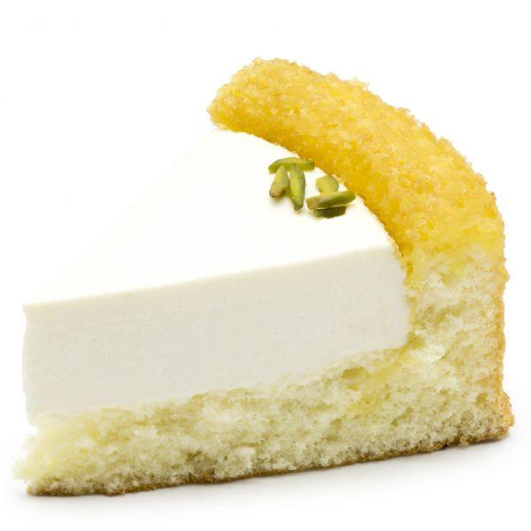 شیرینی چیز کیک سه گوش وانیل