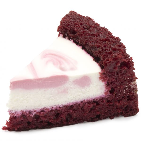 شیرینی چیز کیک سه گوش ردولوت
