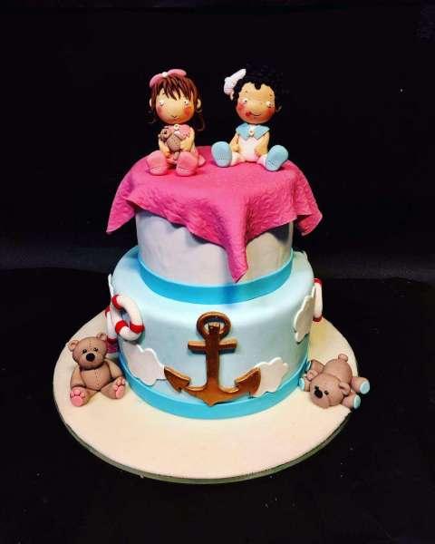 کیک تولد دخترانه دریا 2