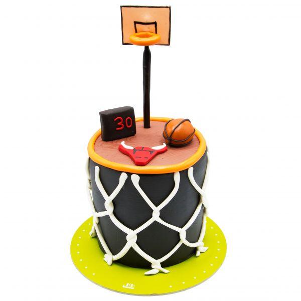 کیک تولد پسرانه بسکتبالی 2