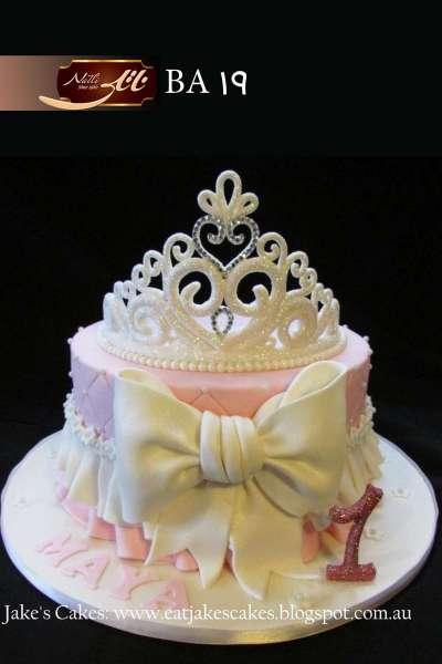 کیک تولد دخترانه سیلور تاج 2