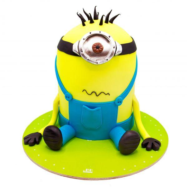 کیک تولد مینیون نگران