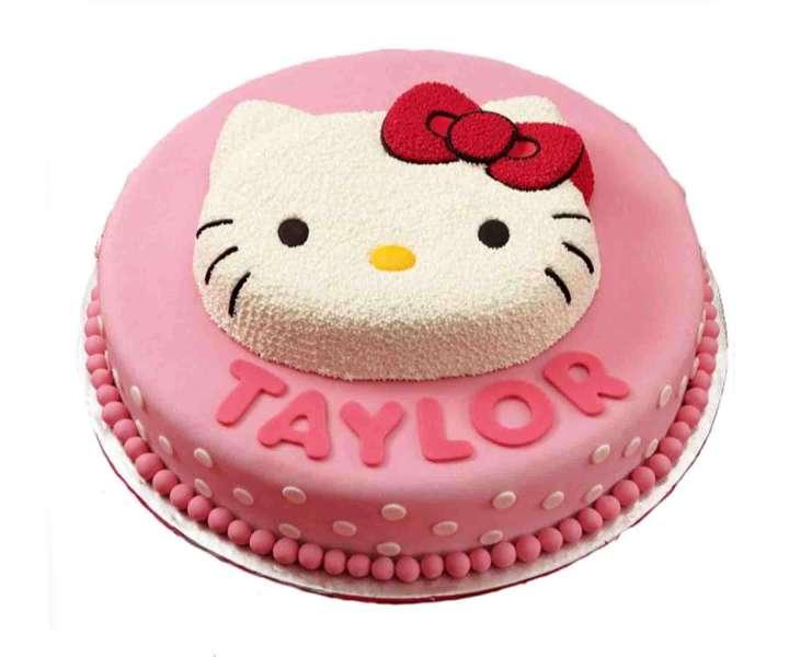 کیک تولد دخترانه ماجراهای کیتی