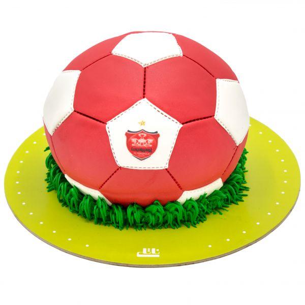 کیک توپ پرسپولیس