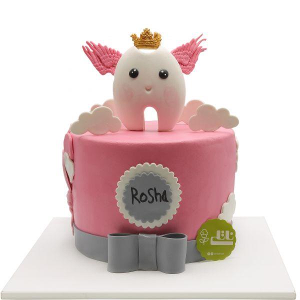 کیک جشن دندونی ملکه دندان ها