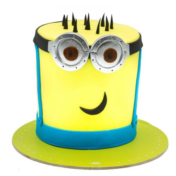کیک تولد مینیون کلاه شیپوری