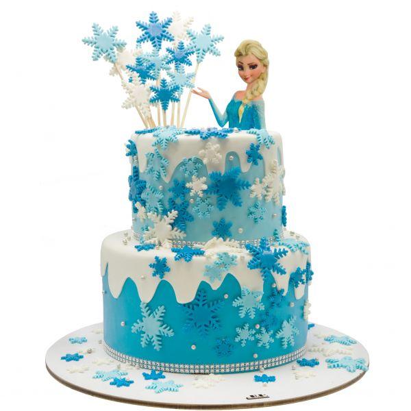 کیک تولد السا ملکه یخی