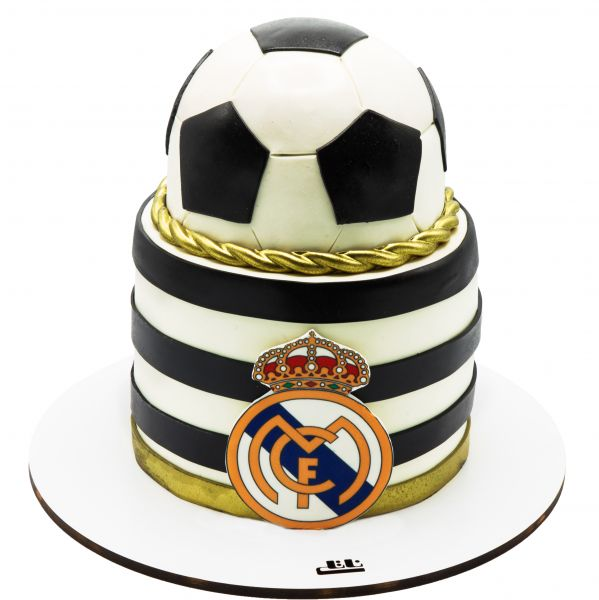 کیک تولد پسرانه توپ رئال مادرید