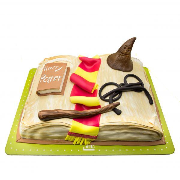 کیک تولد پسرانه هری پاتر