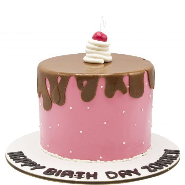 کیک تولد گیلاس