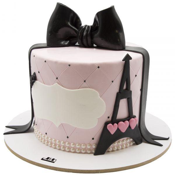 کیک تولد پاریس