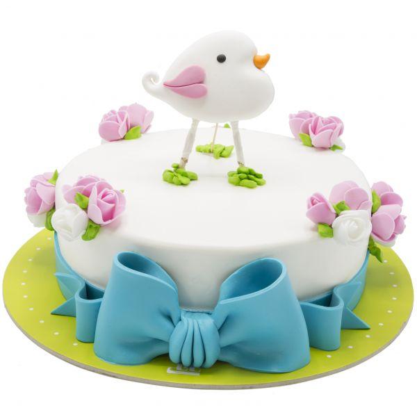 کیک تولد دخترانه جوجه بونیتا