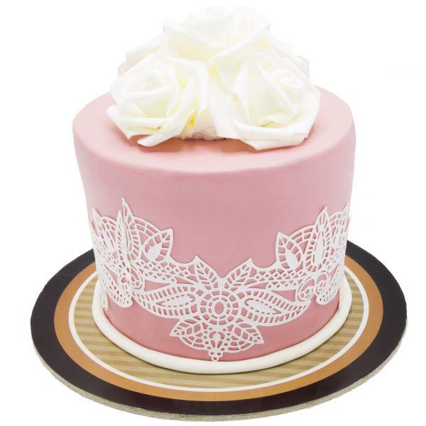 کیک تولد دخترانه کاملیا