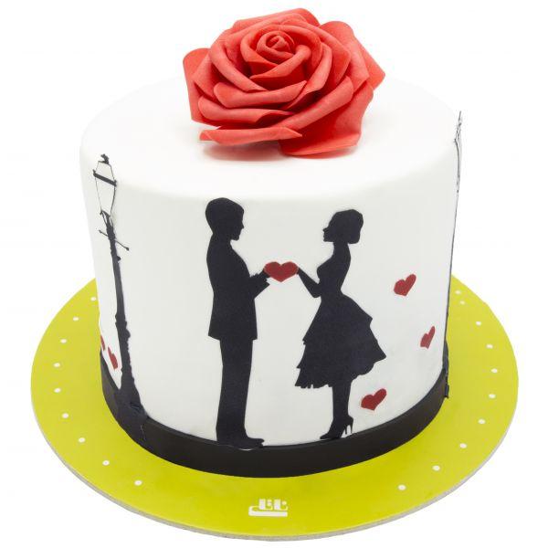 کیک تولد عشق