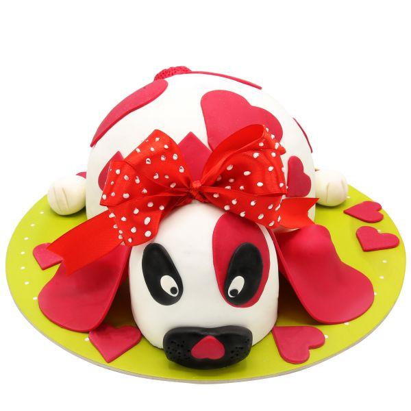 کیک تولد دخترانه لوسی مهربون