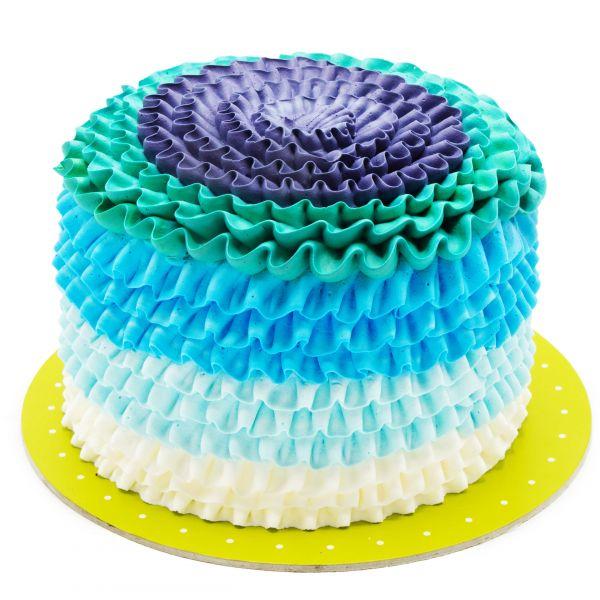 کیک تولد دراپه شمیم