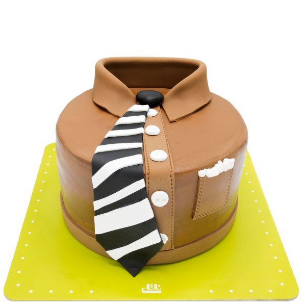 کیک تولد کارمند نمونه