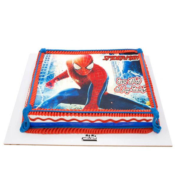فتو کیک مرد عنکبوتی