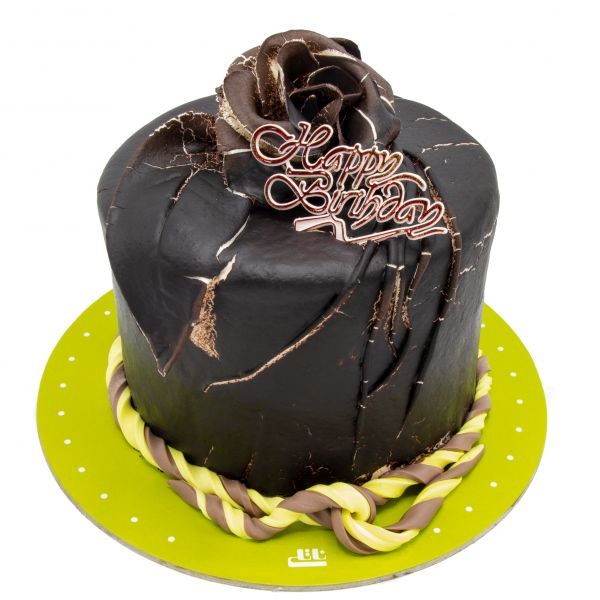 کیک تولد شکلاتی دارک رز