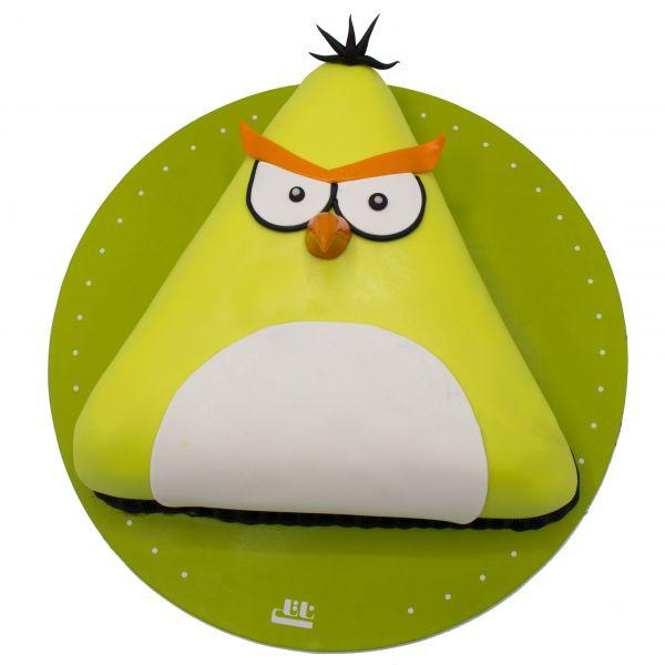 کیک پرنده خشمگین زرد