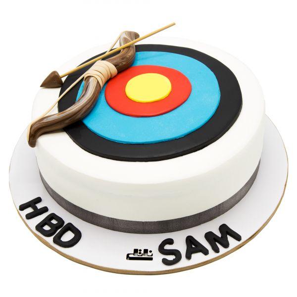 کیک تولد پسرانه تیر کمان