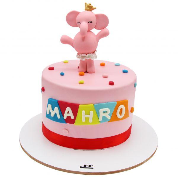 کیک فیل کوچولو