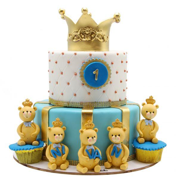 کیک پادشاه خرس ها