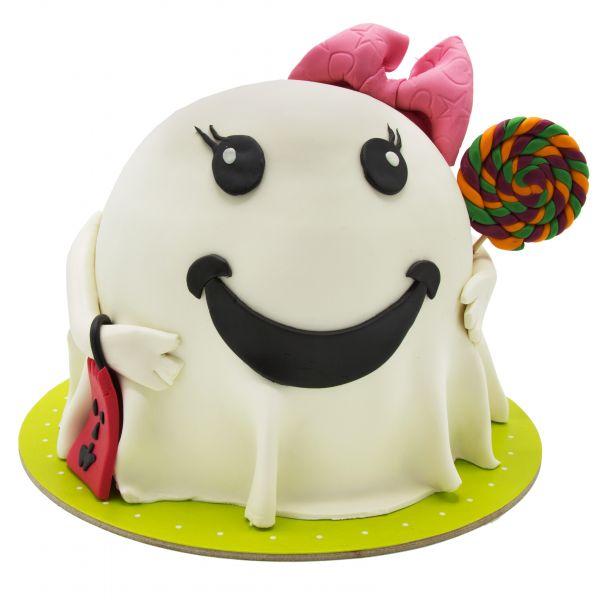 کیک هالووین شبه خندان