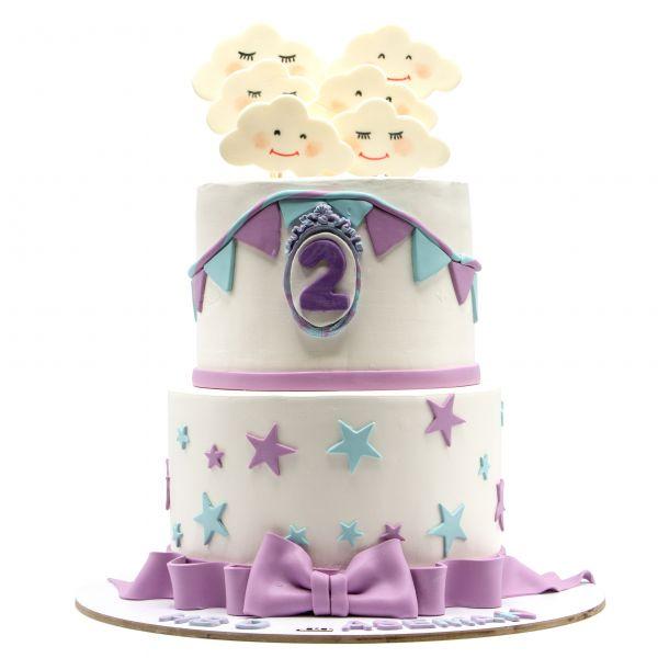 کیک ابر های خندون