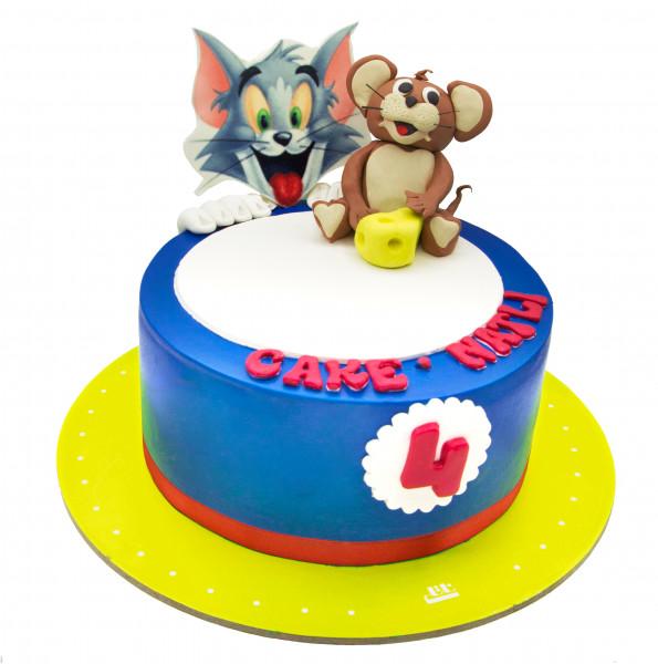 کیک تام و جری خندان