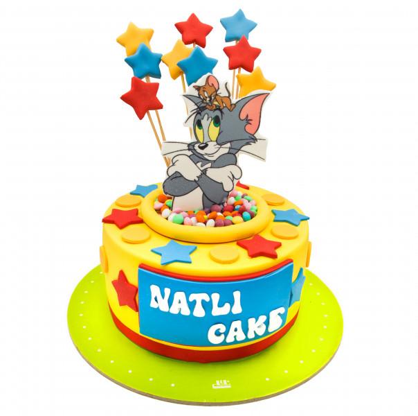 کیک تام و جری و ستاره