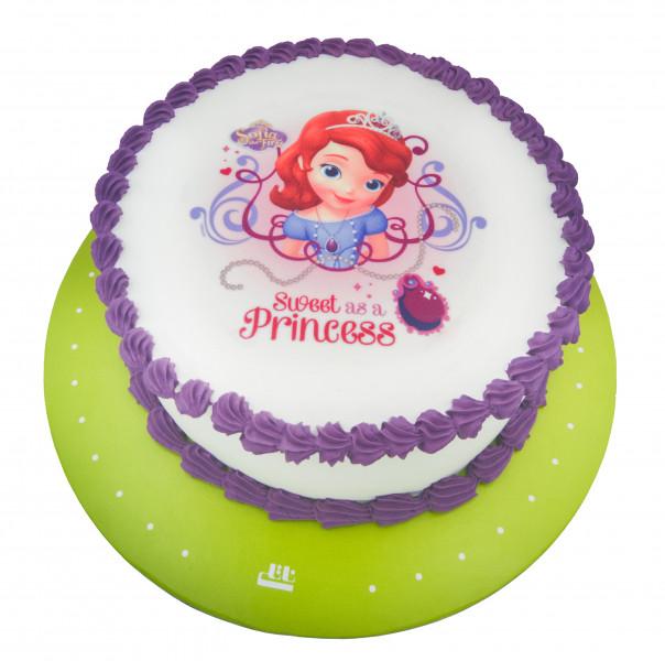 کیک تصویری سوفیا